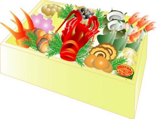 osechiyurai 500x381 【3分でわかる】おせち料理の重箱への詰め方と意味