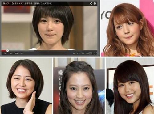 usachangeinouzin 500x369 【2014年はこれ】うさちゃん顔メイクを先取りしてモテモテ!