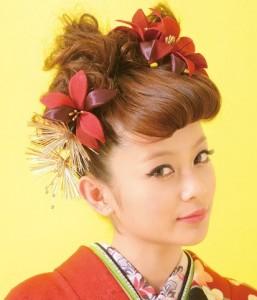 rize 257x300 【2014成人式】女子のモヒカン風ヘアースタイルで和風美人に!